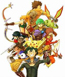 pokemon warriors fanart