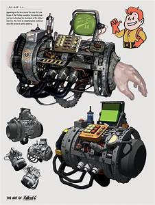 Image FO4 Art Of FO4 PipBoy 1jpg Fallout Wiki
