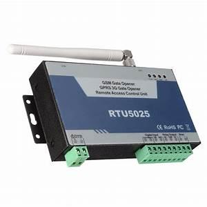 Gsm Gate Opener Door Opener Rtu5025  Remote Access Control