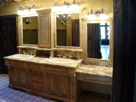 bath cabinets barn style traditional bathroom