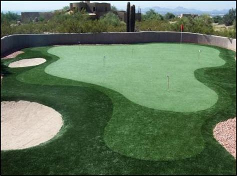 Backyard Golf Drills by Home Golf Putting Greens Never Been This Affordable