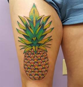 Amazing Thigh Designs 63 Amazing Pineapple Idea For People Who Are