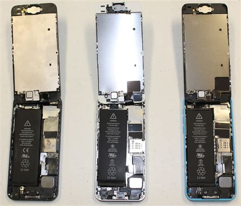 how to open an iphone 5c iphone 5s and iphone 5c teardowns show touch id home