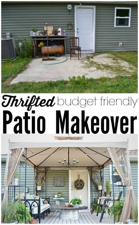 Backyard Makeover Ideas On A Budget by Back Patio Makeover Reveal Source List Best Of