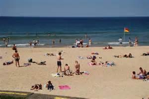 Australian Beaches with People