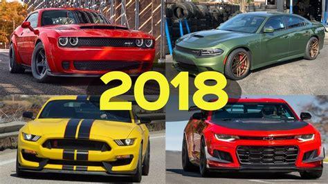 2018 Muscle Car Comparison!