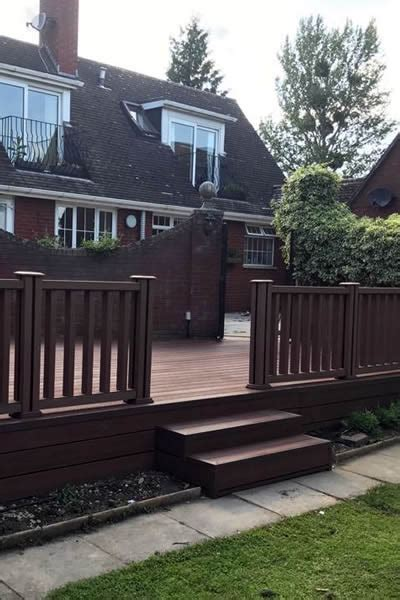 composite fencing decking cheltenham fencing decking