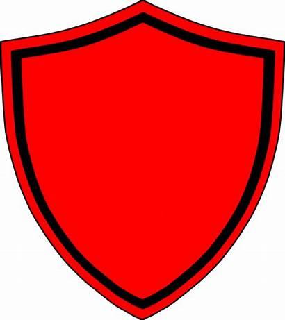 Shield Clip Clipart Vector Clker Domain