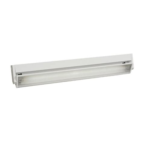 cabinet fluorescent light shop galaxy 22 875 in hardwired cabinet fluorescent light bar at lowes