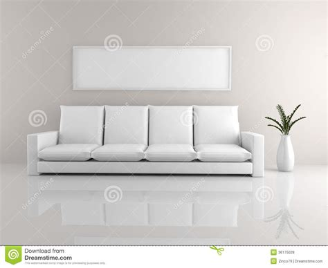 minimalist sofa royalty  stock  image
