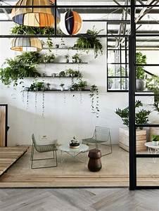 Pflanzen An Der Wand : inspirierende dekoideen kleiner innen gartenbereich ~ Articles-book.com Haus und Dekorationen