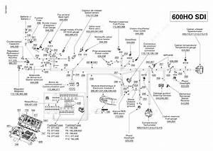 Ski Doo 2007 Mx Z - Renegade 600 Ho Sdi  Electrical Harness 600ho Sdi