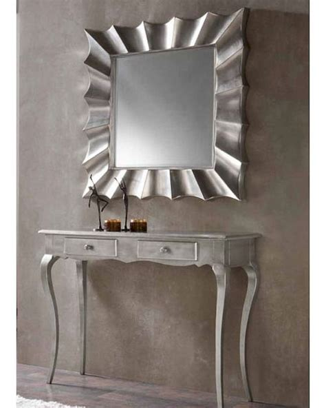 Console Table With Mirror Set by Contemporary Console Table And Mirror Set 33c41