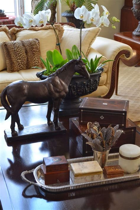 20 best ideas wooden trunks coffee tables. Coffee table vignette from The Polohouse | Coffee table ...