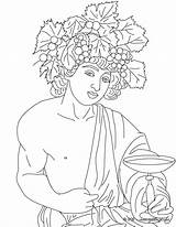 Greek Coloring Dionysus God Gods Pages Wine Mythology Goddess Goddesses Adult Drawing Atlas Colouring Dionisio Hellokids Greece Dios Dieu Vin sketch template