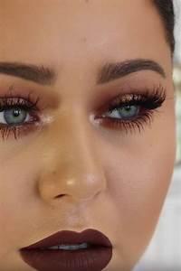 Maquillage Pour Yeux Marron : 1001 variantes de votre maquillage dor ~ Carolinahurricanesstore.com Idées de Décoration