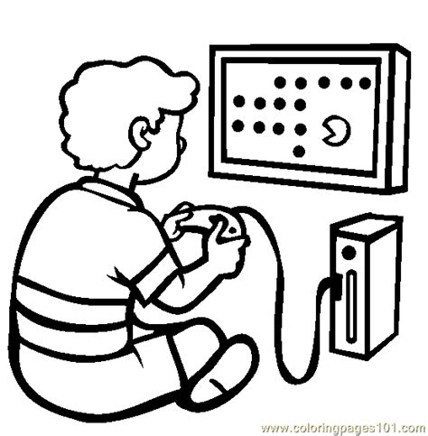 video game console coloring page  games coloring