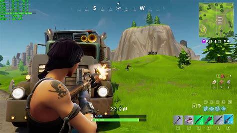 fortnite gameplay epic settings  gtx  youtube