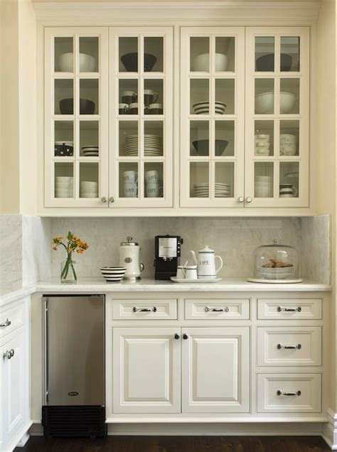 coffee cabinets for kitchen kitchen with built in coffee station transitional kitchen