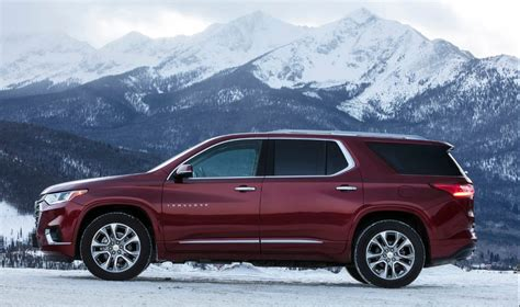 2019 Chevrolet High Country Price by 2019 Chevrolet Traverse High Country Awd Rumor Changes