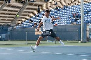 Men's tennis' success in singles leads to win after ...