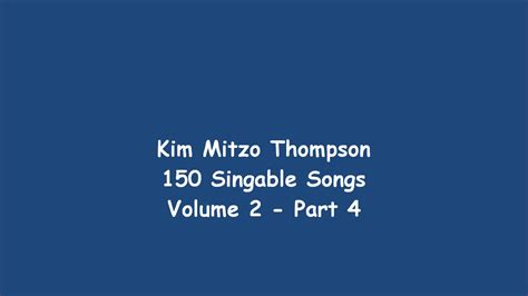 150 Singable Songs Volume Two (part 4
