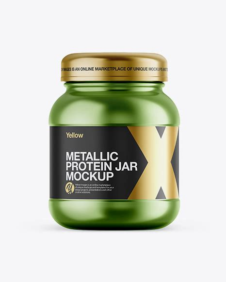 A realistic mockup for protein jar design to display your design in a more efficient way on this protein jar mockup free psd graphics. Glossy Plastic Protein Jar Mockup - Front View - Metallic ...