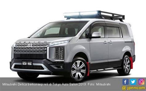 Modifikasi Mitsubishi Delica by Mitsubishi Delica Berkonsep Reli Di Tokyo Auto Salon 2019