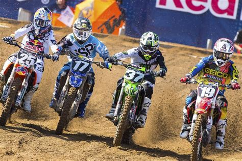 lucas oil ama motocross tv schedule 2016 lucas oil pro motocross schedule announced racer x