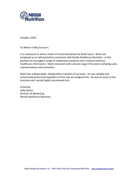 letter for recommendation tips for writing a letter of recommendation