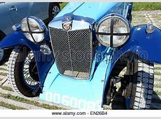 Car, MG A, vintage car, convertible, 1950s, fifties, 1960s, sixties Stock Photo 19998410 Alamy
