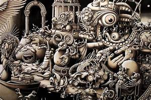 Insanely Detailed Artwork Created in 10 Months! - My ...