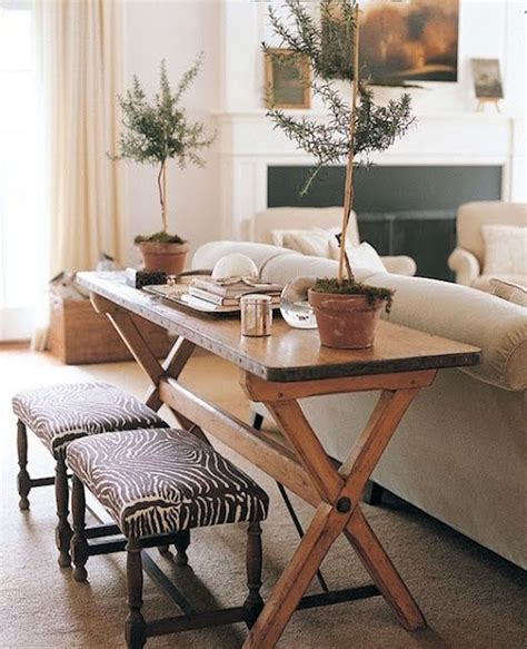 sofa table and stools 10 narrow dining tables for a small dining room