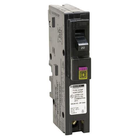 Square Homeline Amp Single Pole Plug Neutral Dual