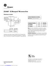 ge monogram zesf manuals
