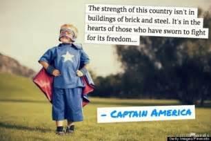 Captain America Superhero Quotes Inspirational