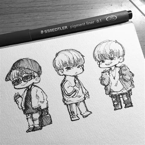 pin  logo  talented art   bts drawings kpop
