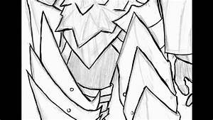 Drawing Monster Hunter  Ucamulbas Armor Part1