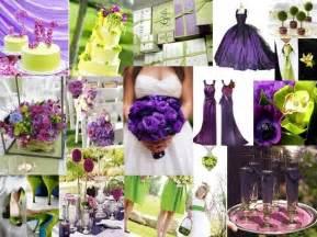 purple wedding ideas wedding ideas purple and green wedding