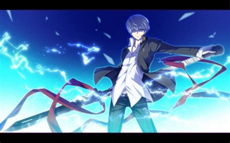 Anime Lightning Wallpaper - the lightning of izanagi narukami yu other anime