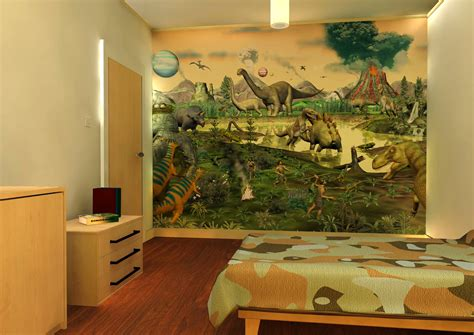 Dinosaur Wallpaper For Kids Room Wallpapersafari