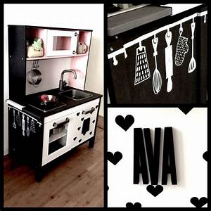 21 best ikea kinderkeuken pimpen images on pinterest With kitchen colors with white cabinets with donkey stickers
