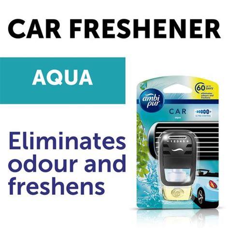 buy ambi pur car air freshener aqua starter kit  ml