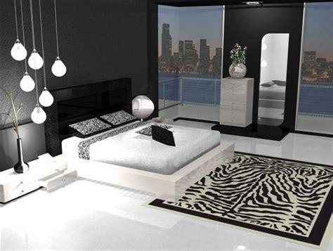 d馗oration chambre noir et blanc déco chambre et blanc