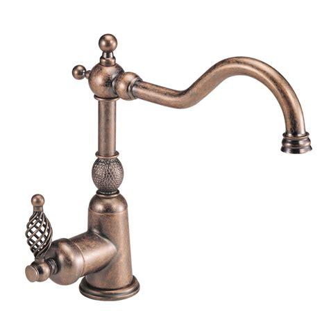 antique kitchen faucet shop danze bordeaux antique copper 1 handle high arc