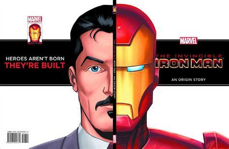 iron an origin story buy novel invincible iron origin story yr hc