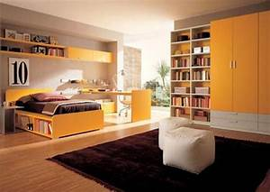 Home interior design ideas for the bedroom of teenage for Teenage interior design bedroom