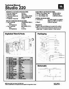 Jbl Studio 590 Service Manual  U2014 View Online Or Download