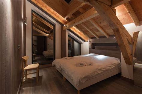 chambre des architectes magnifique chalet bois modernisé au pied du mont blanc en