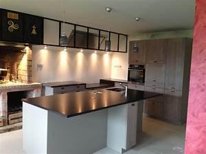 Cuisine Authentique Plan De Travail Granit Vannes